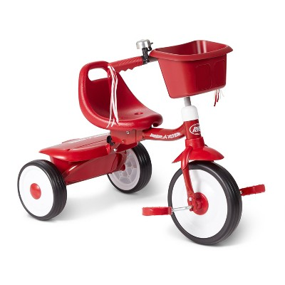 Radio Flyer Fold 2 Go Trike with Bucket