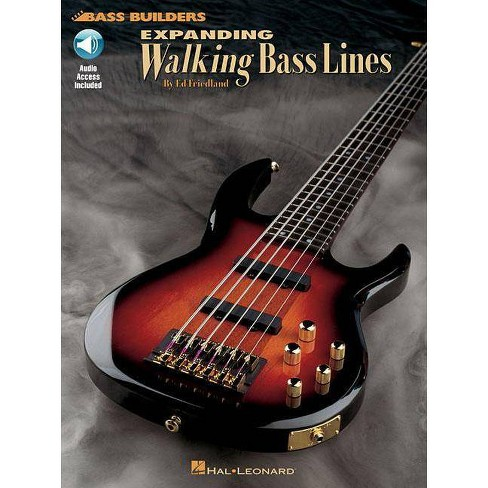Expanding Walking Bass Lines - (Bass Builders) by  Ed Friedland (Mixed media product) - image 1 of 1
