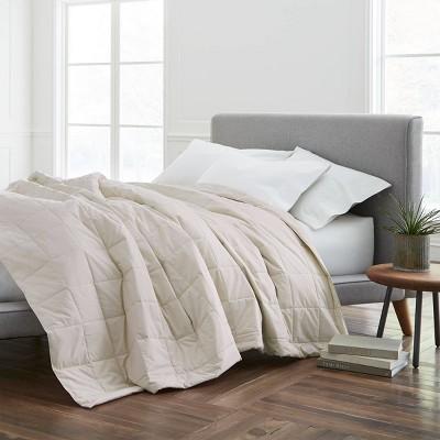 Full/Queen Cotton Bed Blanket Cream - EcoPure