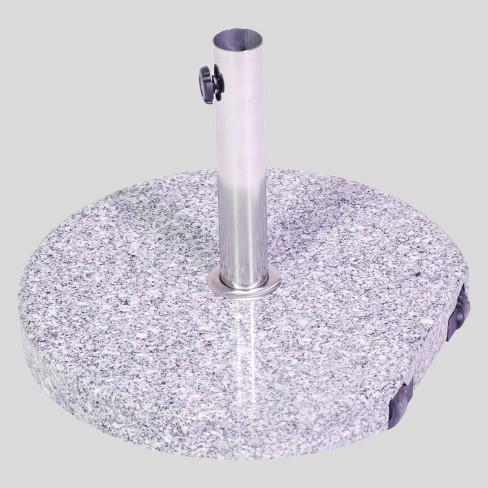 Granite Rolling Umbrella Base Gray - Threshold™ - image 1 of 3