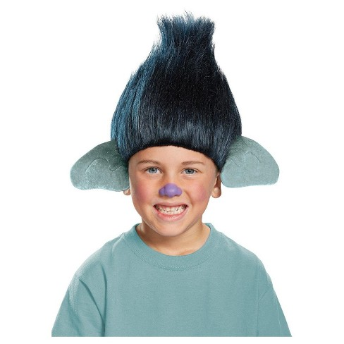 Kids' Trolls Branch Costume Wig - image 1 of 1