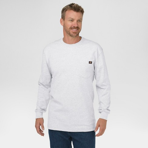 Dickies® Men's Cotton Heavyweight Long Sleeve Pocket T-Shirt - image 1 of 4