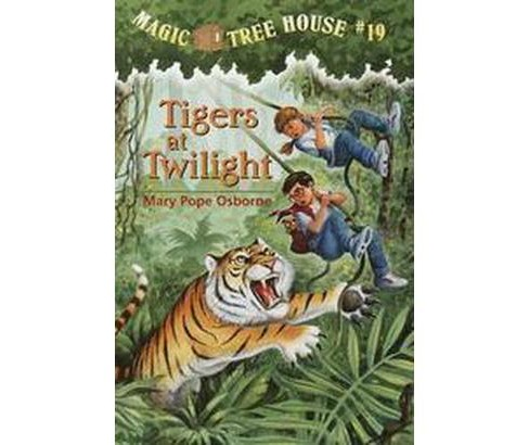 Tigers at Twilight ( Magic Tree House) (Paperback) by Mary Pope Osborne - image 1 of 1