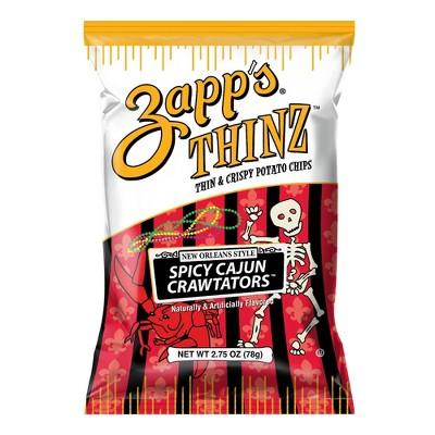 Utz Zapp's Thinz Spicy Crawtators - 2.75oz