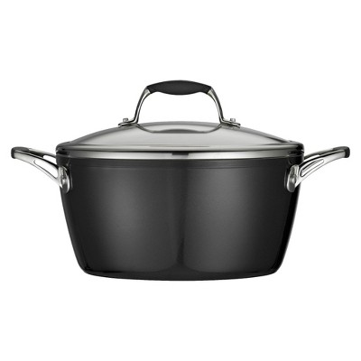 Tramontina Gourmet Ceramica Deluxe 5 Quart Covered Dutch Oven - Black