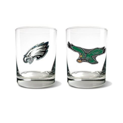 NFL Philadelphia Eagles Rocks Glass Set - 2pc - image 1 of 1
