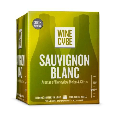 Sauvignon Blanc White Wine - 3L Box - Wine Cube™ - image 1 of 2