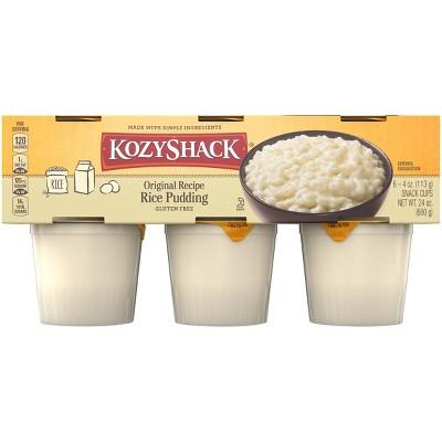 Kozy Shack Original Rice Pudding Cups - 6ct/4oz Cups