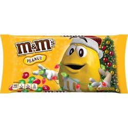 M&M's Holiday Peanut Chocolate Candy - 10.0oz