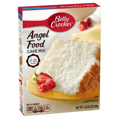 Baking Mixes: Betty Crocker Angel Food Cake Mix