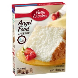 Betty Crocker Angel Food White Cake Mix - 16oz