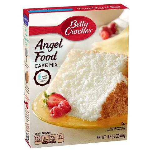 Betty Crocker Angel Food White Cake Mix - 16oz - image 1 of 4