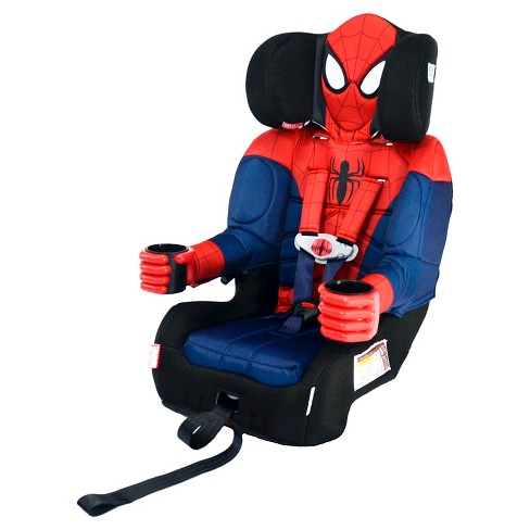 KidsEmbrace Marvel Ultimate Spider Man Combination Harness Booster Car Seat