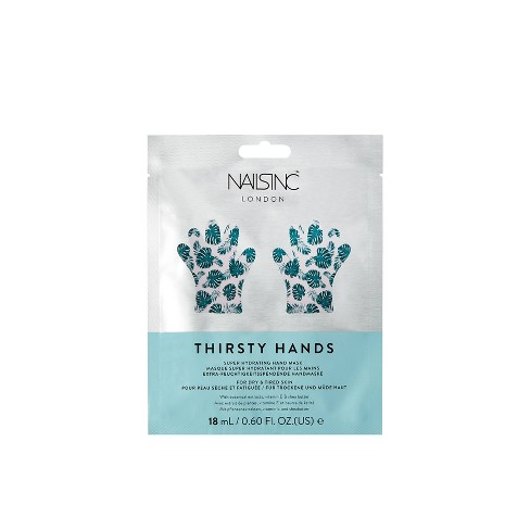 Nails.INC Thirsty Hands Super Hydrating Hand Mask – 0.6 fl oz - image 1 of 3