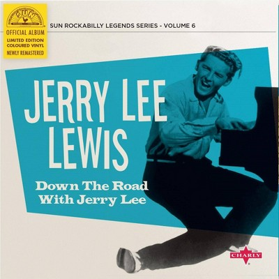 Jerry Lee Lewis - Down The Road With Jerry Lee (Ltd. Cyan (Vinyl)