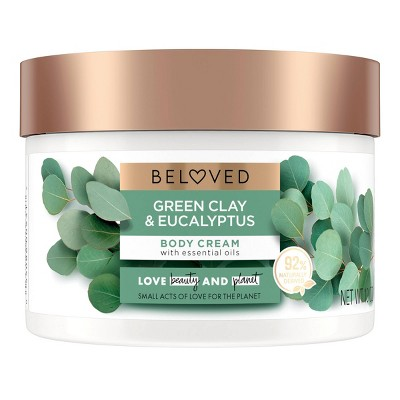 Beloved Green Clay & Eucalyptus Body Cream Lotion - 10oz