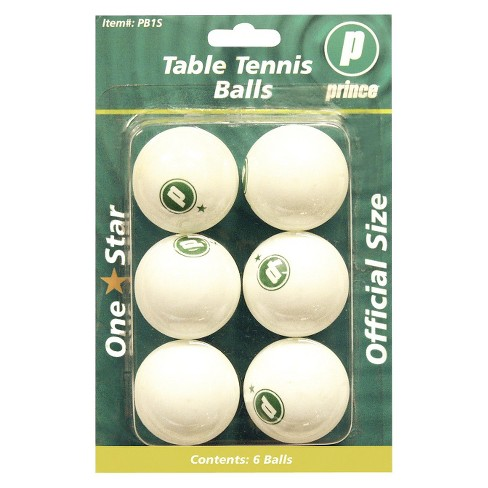 Prince Table Tennis Balls 6ea. - image 1 of 1