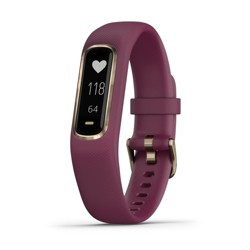 Garmin Vivosmart 4 Smartwatch Small/Medium - Merlot