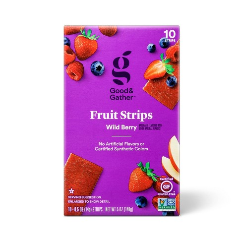 Wild Berry Fruit Strips - 12oz/10ct - Good & Gather™ - image 1 of 3