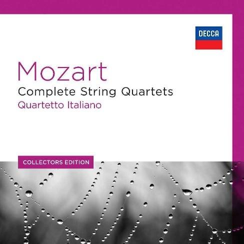 Quartetto Italiano - Collectors Edition: Mozart- String Quartets (CD) - image 1 of 1
