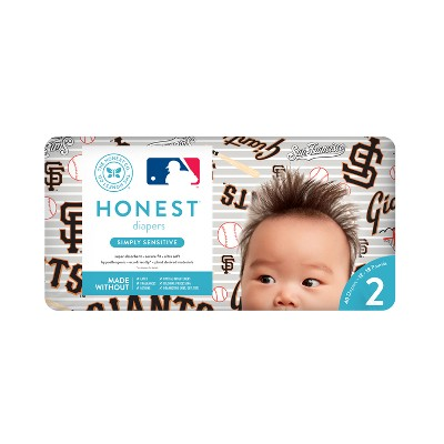 Honest Company Diapers, San Francisco Giants - Size 2 (40ct)