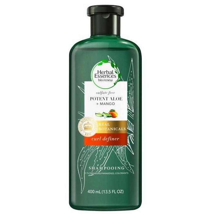 Herbal Essences Bio:renew Mango + Potent Aloe Sulfate Free Shampoo For Curly Hair - 13.5 Fl Oz : Target