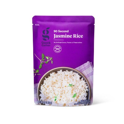 90 Second Jasmine Rice Microwavable Pouch - 8.5oz - Good & Gather™