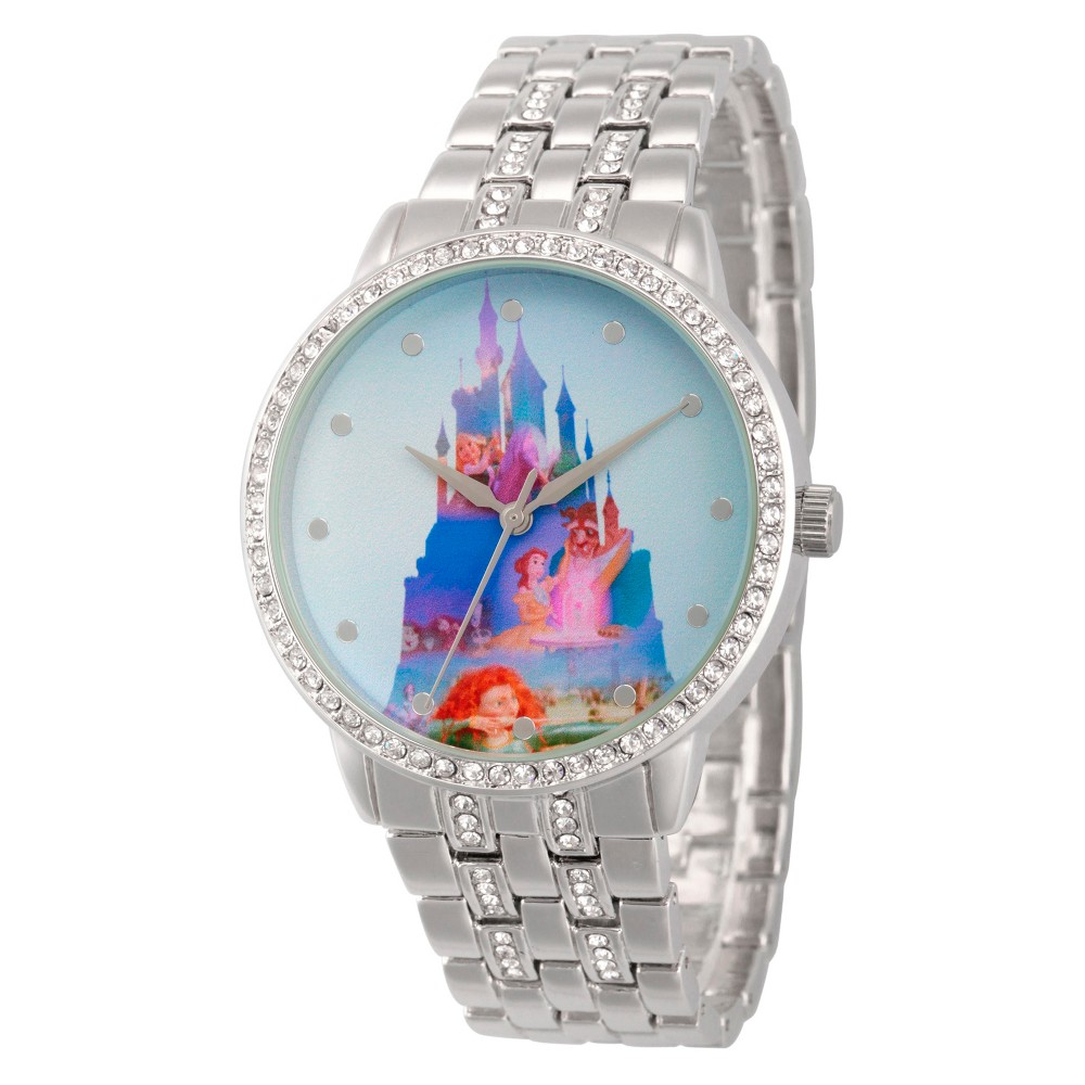 Women's Disney Watches - Silver, Size: Small