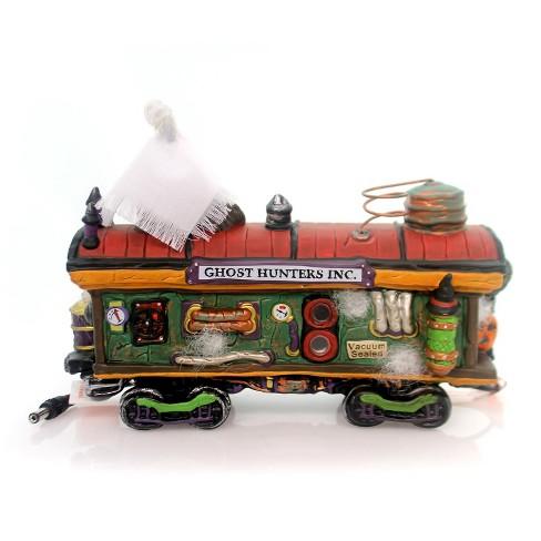 Department 56 Snow Village Halloween Haunted Rails Dining Car Accessory Figurine