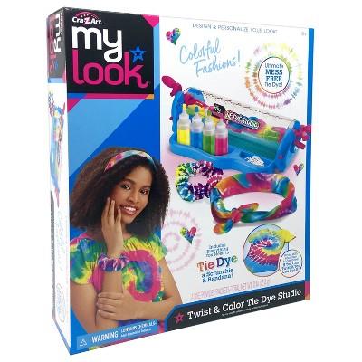 MY LOOK Twist & Color Tie Dye Studio Activity Kit