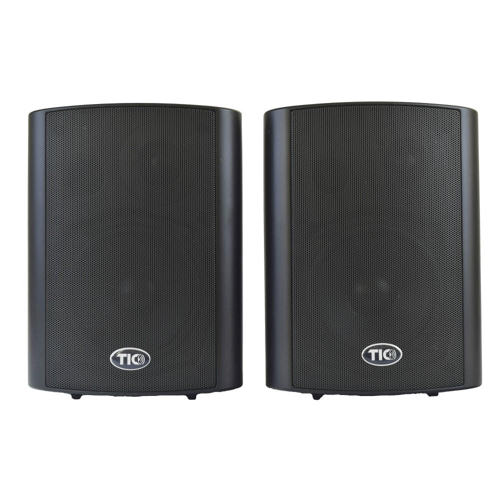 """TIC 5"""" Wireless Outdoor Wifi Patio Speaker - Black"""