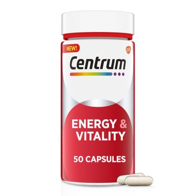 Centrum Benefit Energy & Vitality Capsule - 50ct