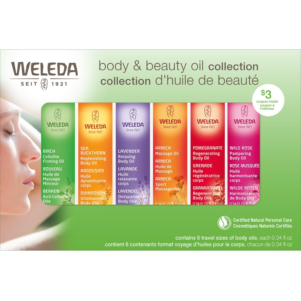 Image of Weleda Body & Beauty Oil Collection