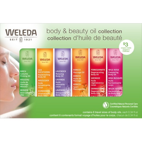 Weleda Body & Beauty Oil Collection - image 1 of 3