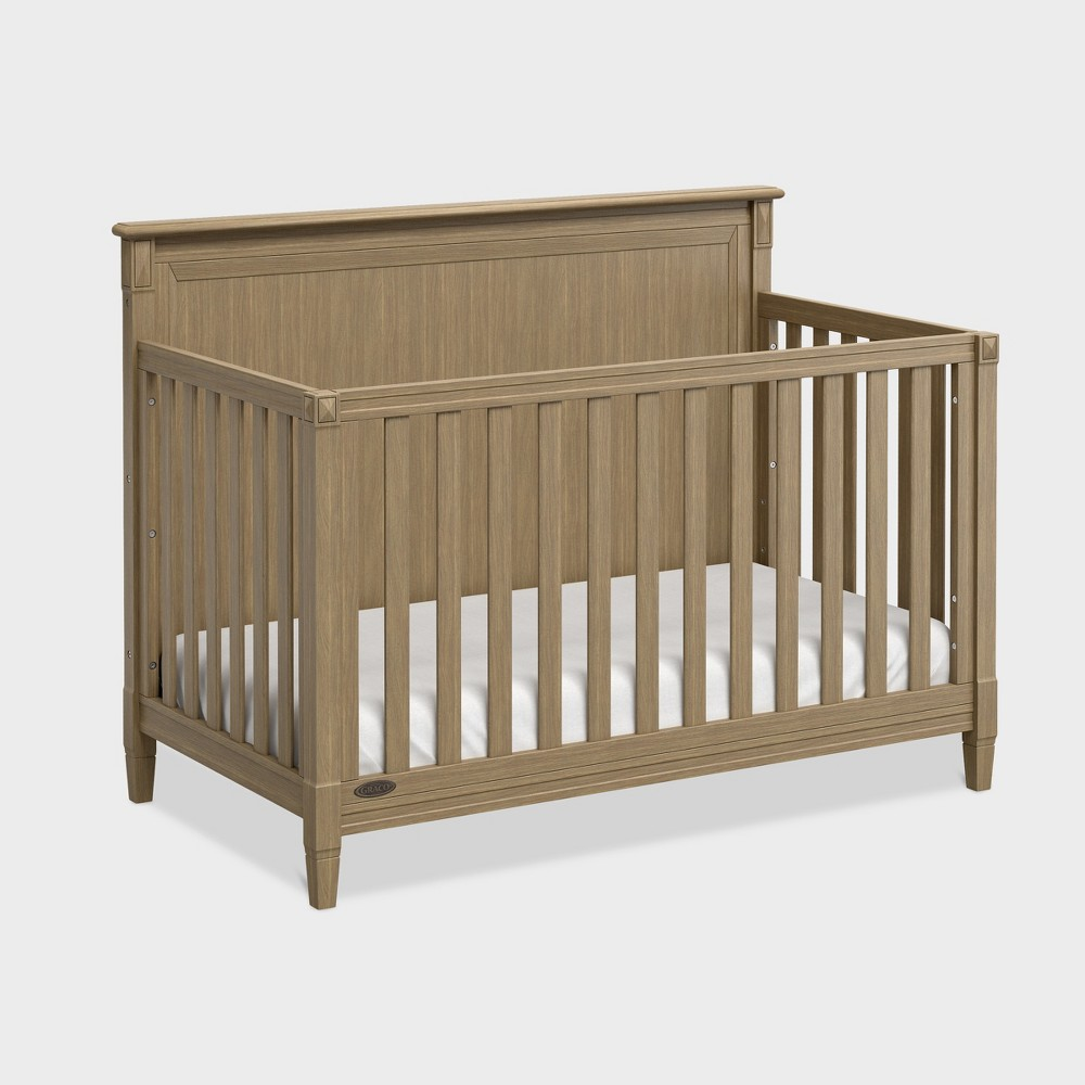 Graco Standard Full-sized Crib - Driftwood (Brown)