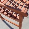 Vifah Malibu Eco-friendly Outdoor Hardwood Garden Arm Chair - image 3 of 3
