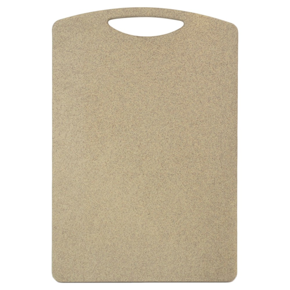 "Image of ""Architec 7""""x11.5"""" Natural Poly Cutting Everyday Board, Brown"""