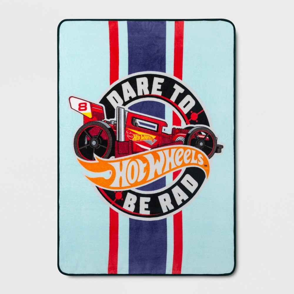 Image of Hot Wheels Throw Blanket Red