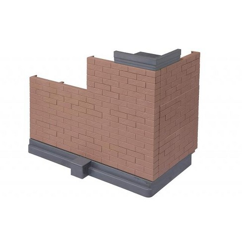 Tamashii Nations Bandai Option Brick Wall (Brown Ver.) Action Figure Accessories - image 1 of 6