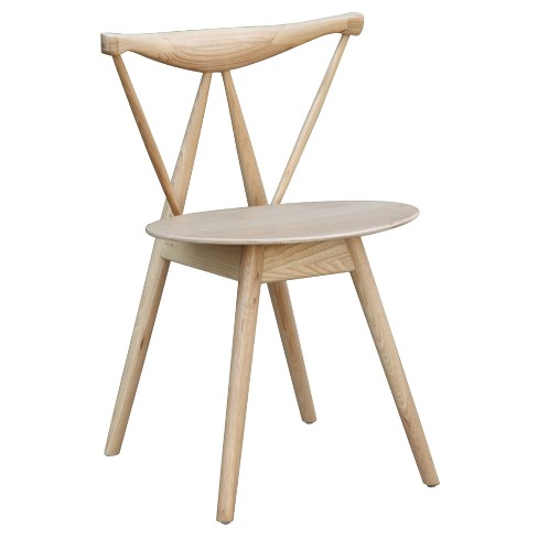 Fronter Dining Chair - Natural - Fine Mod Imports - image 1 of 5