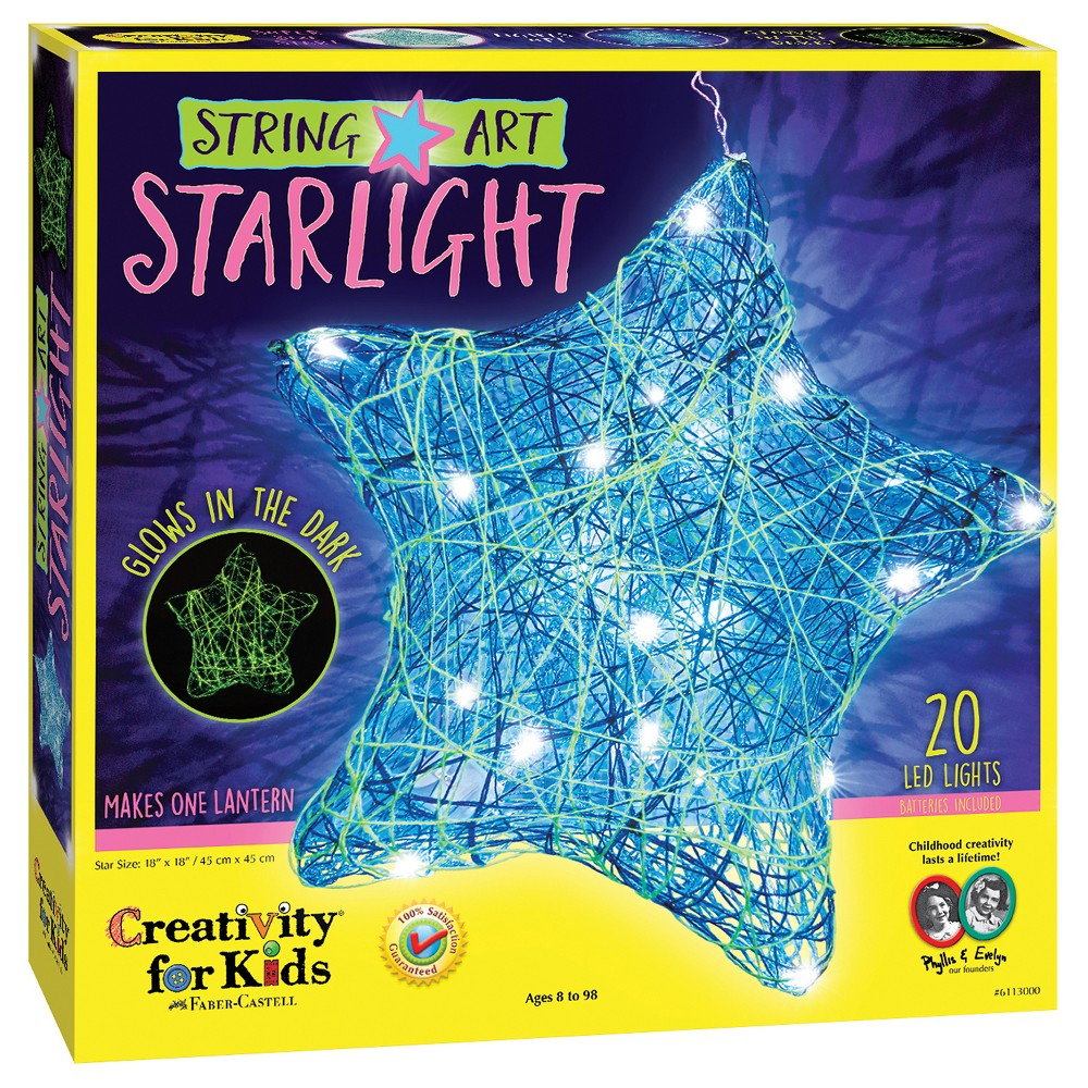 Image of Creativity for Kids String Art Starlight