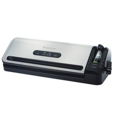FoodSaver 2-In-1 Food Preservation Vacuum Sealer System - Silver
