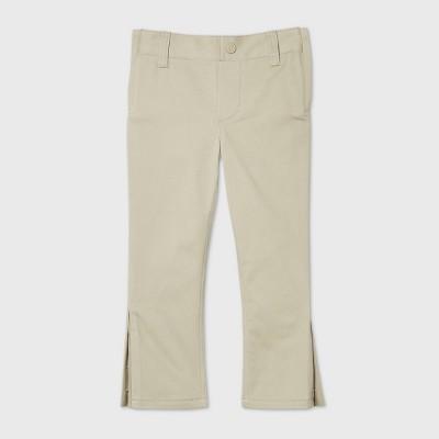 Toddler Boys' Adaptive Chino Pants - Cat & Jack™ Khaki