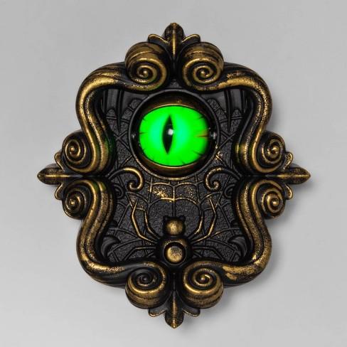"8"" Animated Halloween Doorbell with Dragon Eye - Hyde & EEK! Boutique™ - image 1 of 2"