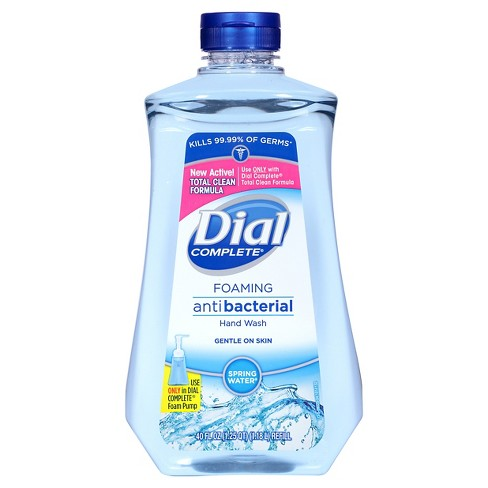 Dial Spring Water Complete Foaming Hand Soap Refill 40oz