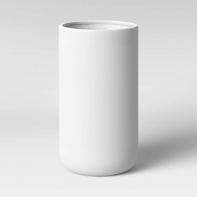 Large Cylinder Planter White Matte - Project 62™