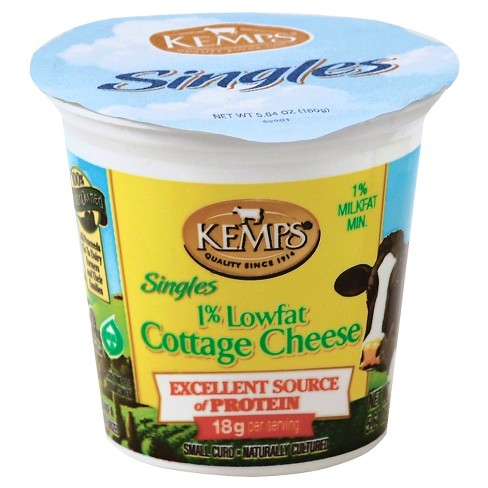 Kemps 1% Lowfat Cottage Cheese Singles - 5.64oz - image 1 of 1