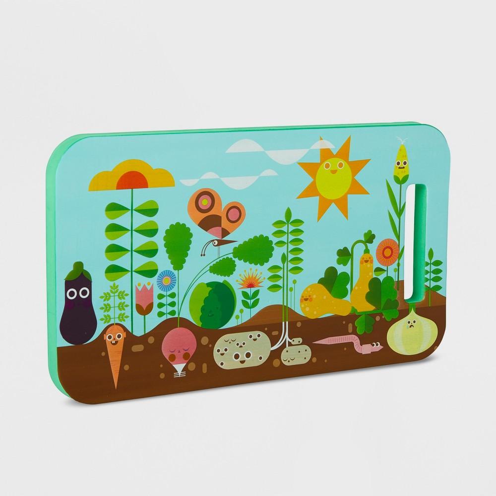 Image of Happy Garden Kneeling Pad - Kid Made Modern, Multi-Colored