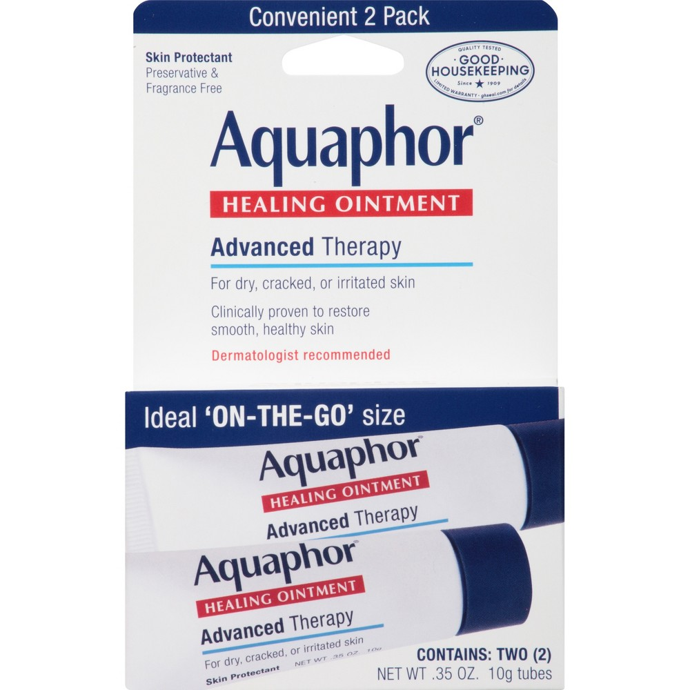 Image of Unscented Aquaphor ON-THE-GO Healing Ointment - 0.35oz