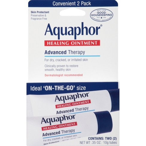 Unscented Aquaphor ON-THE-GO Healing Ointment - 0.32oz - image 1 of 3